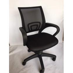 201-siyah-ayak klc-200023 calısma koltugu